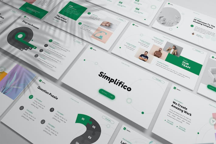 Simplifico - Simply Powerpoint Template