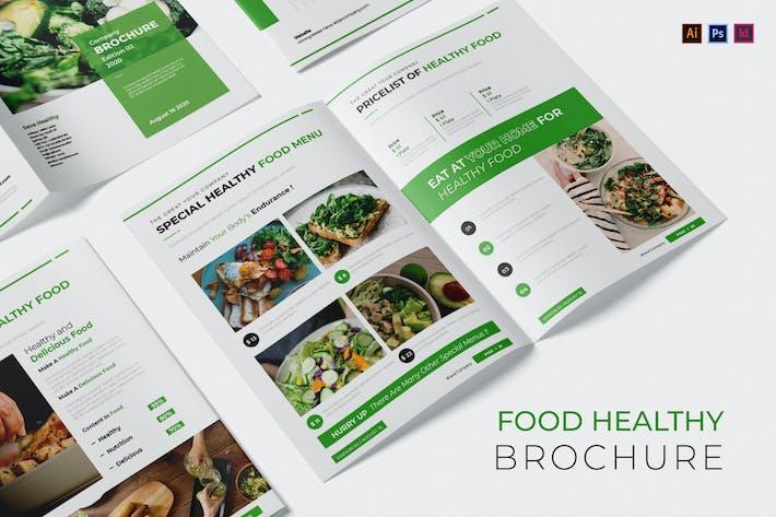 Thumbnail for Lebensmittel-Broschüre für gesunde Lebensmittel
