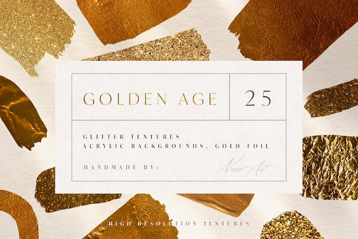 Thumbnail for 25 Golden Age Luxury Textures