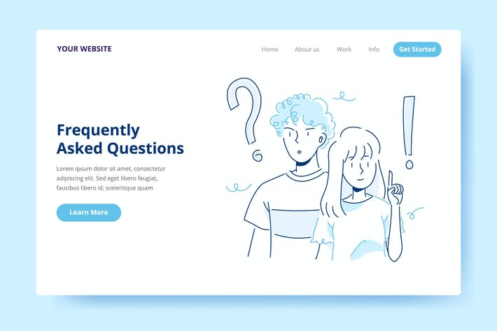 Thumbnail for Frequently Asked Questions - Landing Page