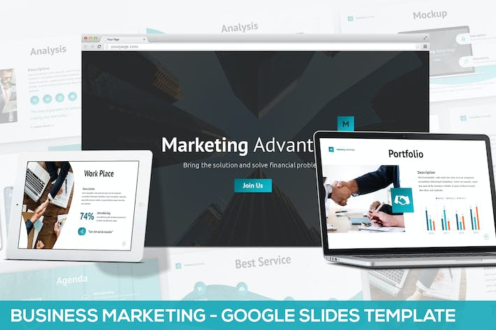 Thumbnail for Business Marketing - Google Slides Template