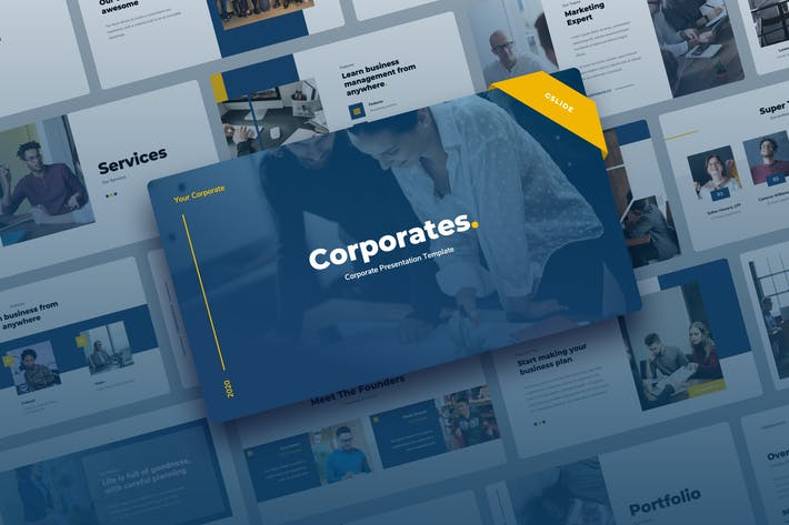 Thumbnail for Corporates - Corporate Google Slides Presentation
