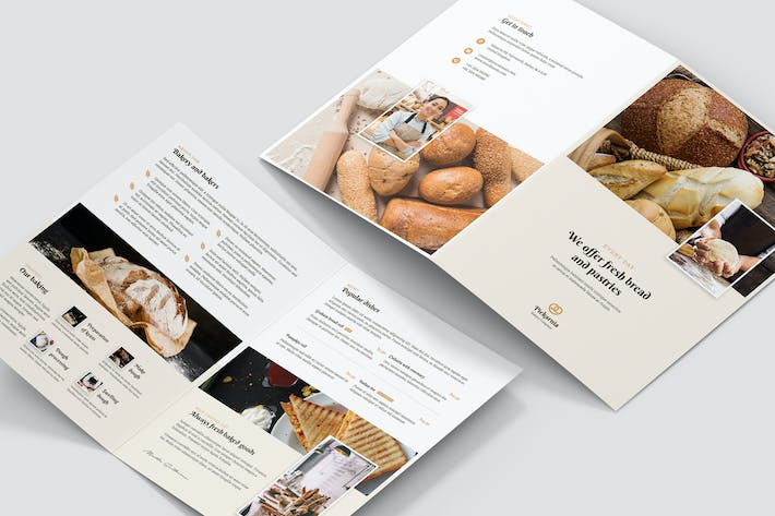 Thumbnail for Brochure – Bakery Bi-Fold