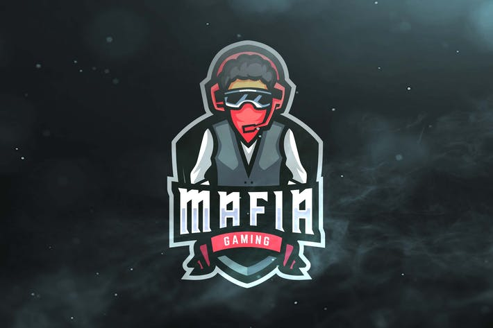 Thumbnail for Mafia Gaming Sport and Esports Logo