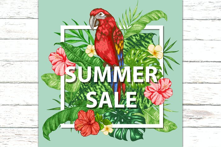 Thumbnail for Summer Sale Background