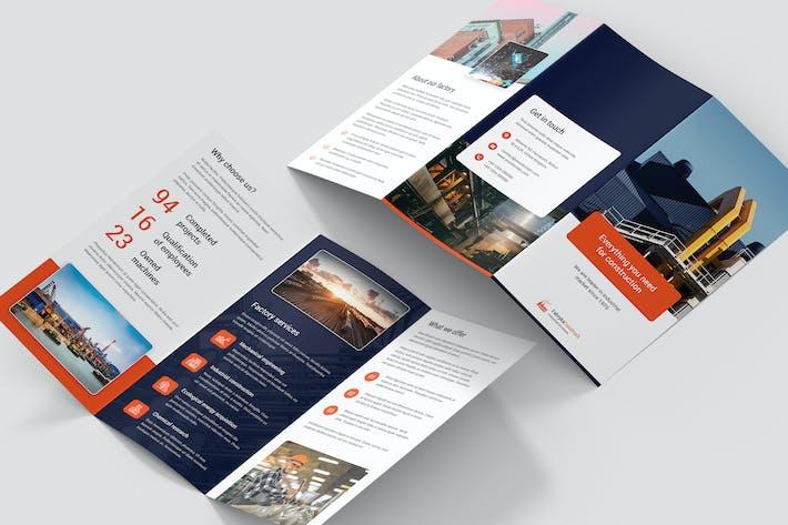Thumbnail for Брошюра — Фабрика Tri-Fold