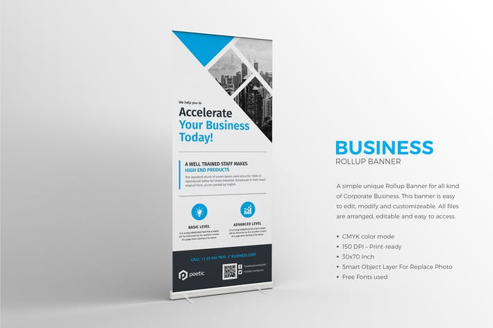 Thumbnail for Business Rollup Banner