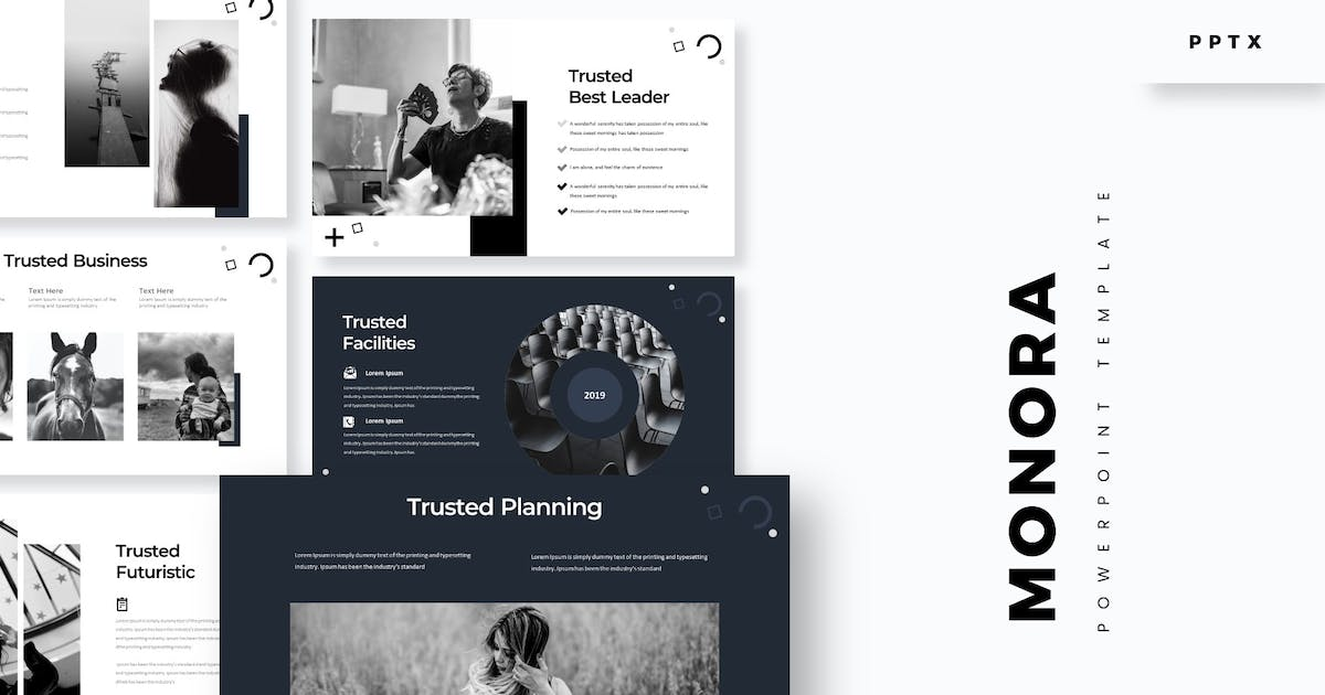 Download Monora  - Powerpoint Template by aqrstudio