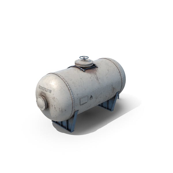 Oil Tank Container Old