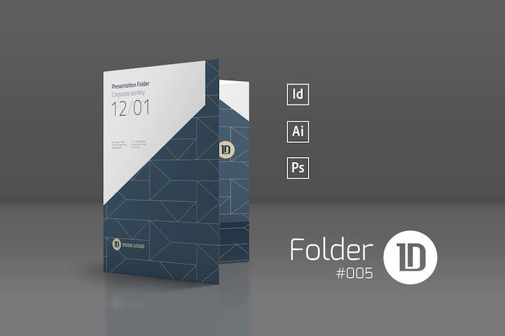 Thumbnail for Presentation Folder Template 005