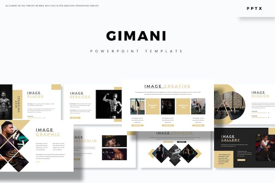 Gimani - Powerpoint Template