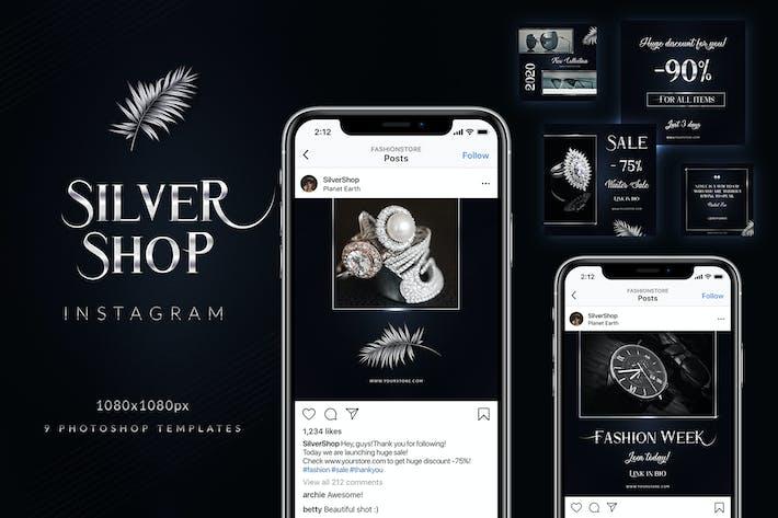 Thumbnail for Silber Shop Instagram