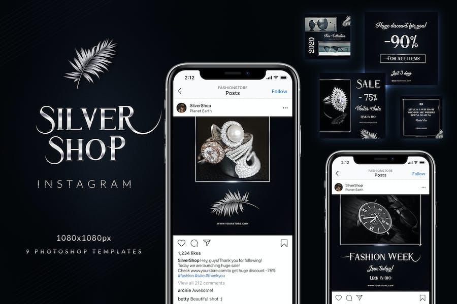 Silver Shop Instagram
