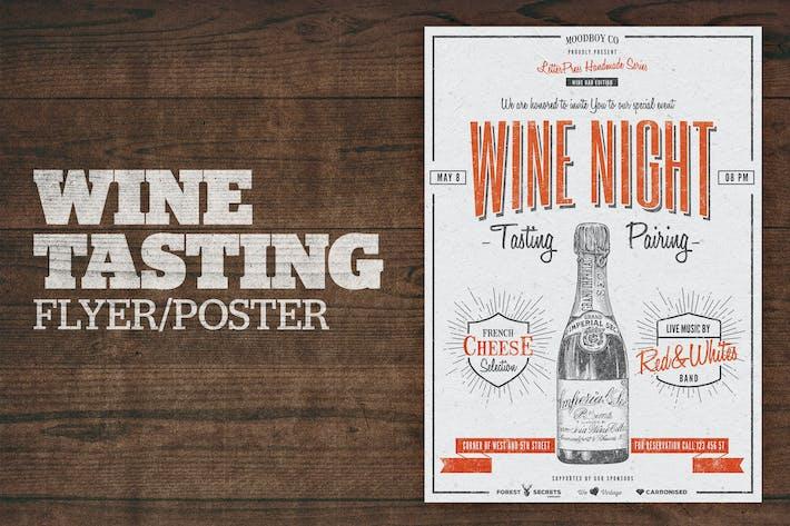 Thumbnail for Wine Tasting Flyer / Poster