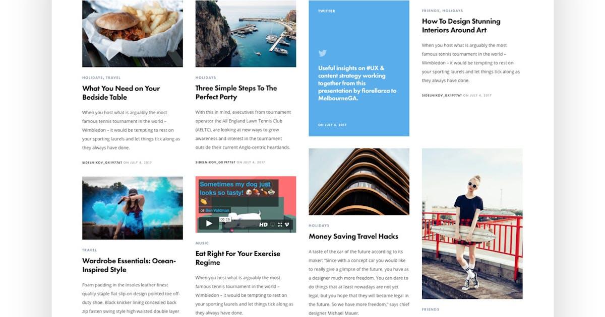 Download The Writer - Modern WordPress Blog Theme by tvdathemes