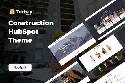 Тербей - строительная тема HubSpot