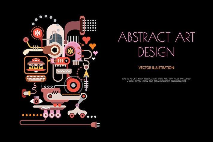 Thumbnail for Eléctrico Equipment ilustración Vector Resumen
