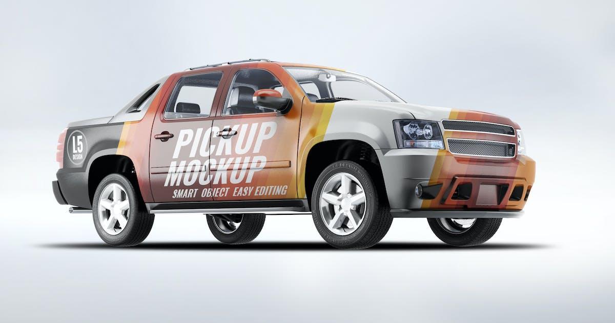 4X4 Pickup Truck Mock-Up by L5Design