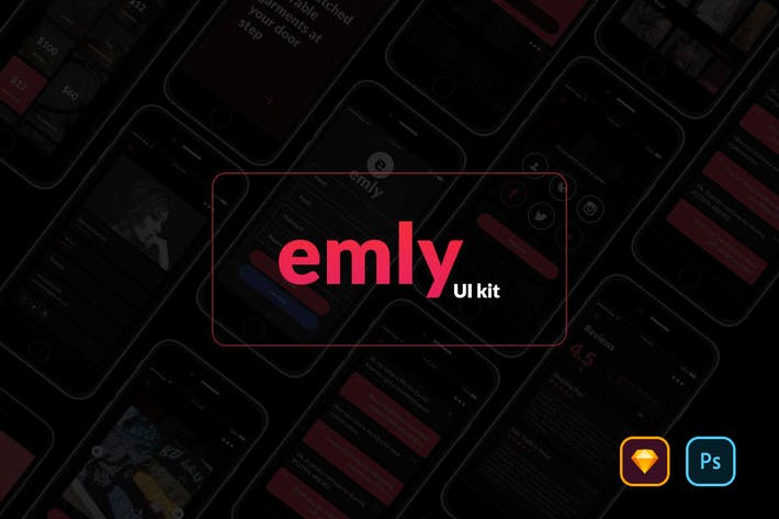 Thumbnail for Emly Creative Shopping App UI Kit