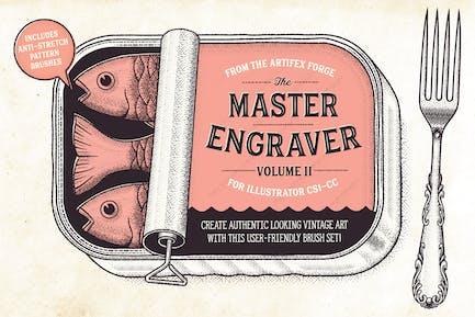 The Master Engraver - Brushes