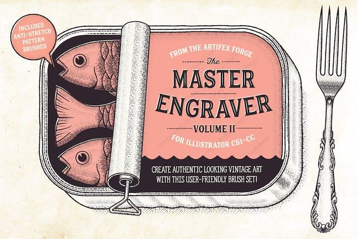 Thumbnail for El Maestro Grabador - Pinceles