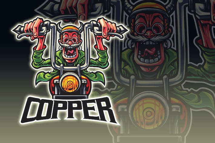 Thumbnail for Old School Bikers Esport Logo
