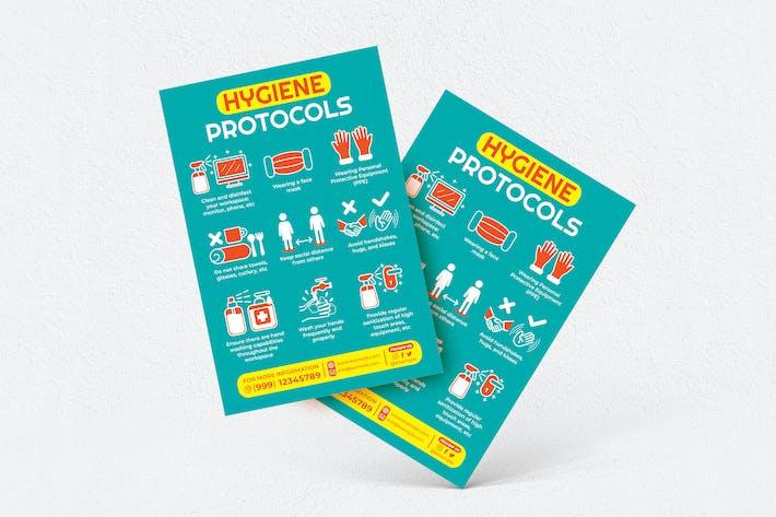 Thumbnail for Hygiene Protocols Flyer