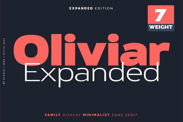 Thumbnail for Oliviar Sans Familia Ampliada