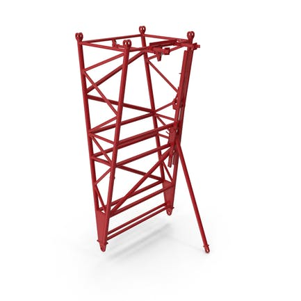 Crane F Intermediate Pivot Section Red