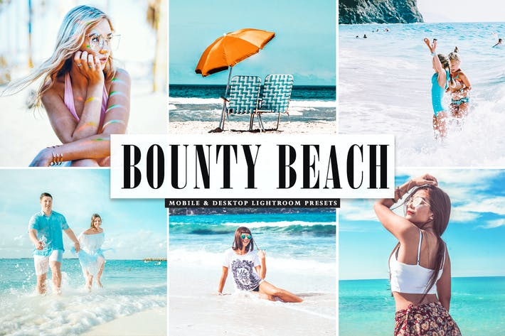 Thumbnail for Bounty Beach Mobile & Desktop Lightroom Presets