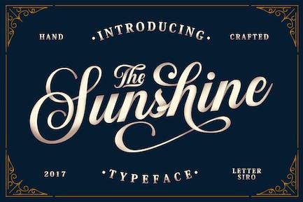 Sunshine Script & Adornos