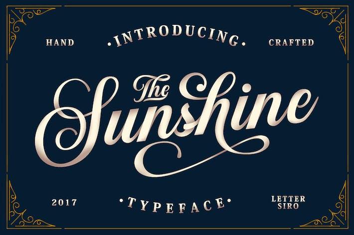 Thumbnail for Sunshine Script & Ornaments