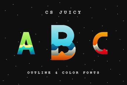 CS Juicy Font.