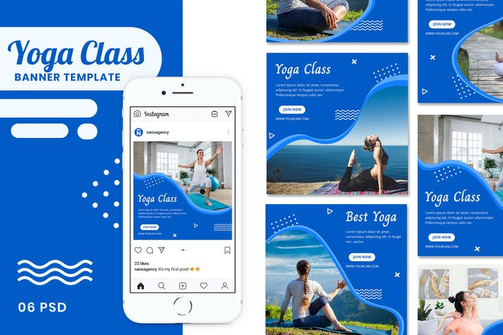 Cover Image For Yoga Banner Instagram Stories