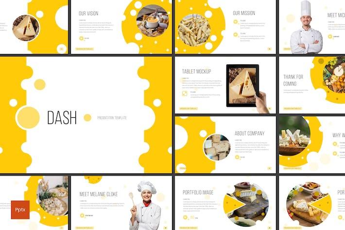 Thumbnail for Dash - Restaurant Powerpoint Template