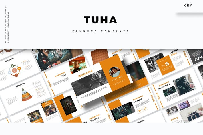 Cover Image For Tuha - Keynote Template