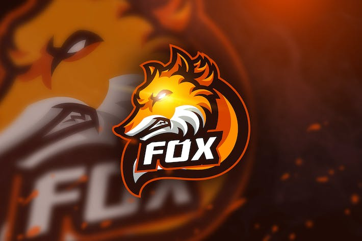 Thumbnail for Fox - Mascot & Esport Logo