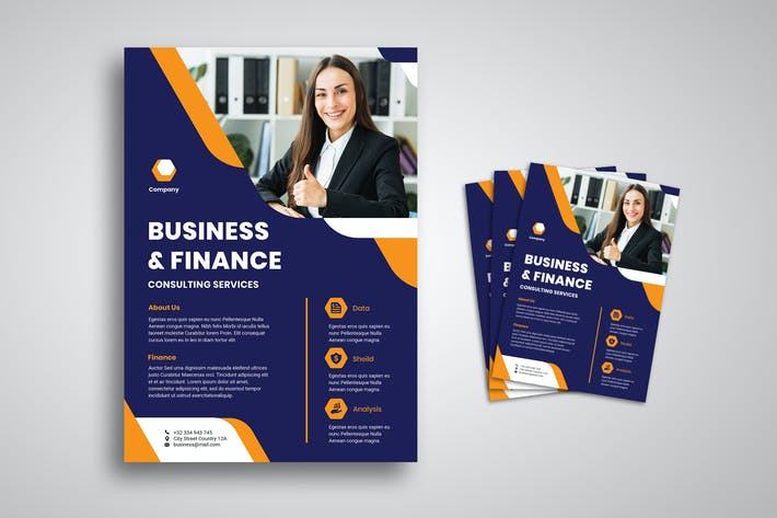 Thumbnail for Business And Finance Flyer