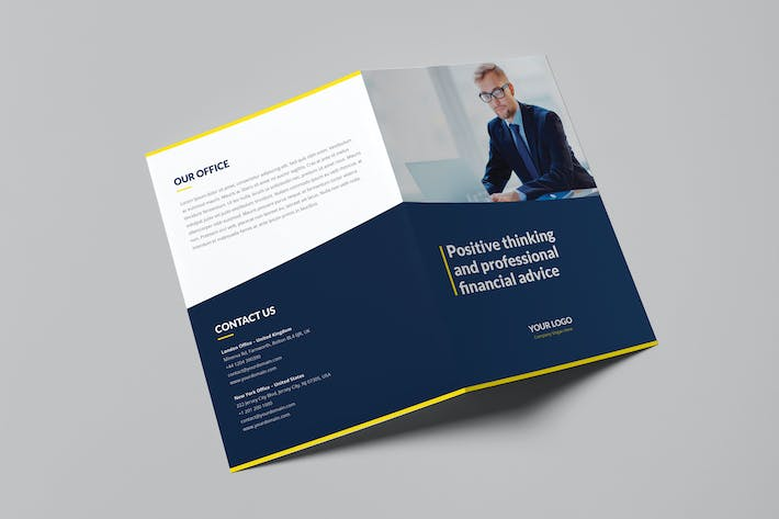 Thumbnail for Brochure – Finance and Business Bi-Fold