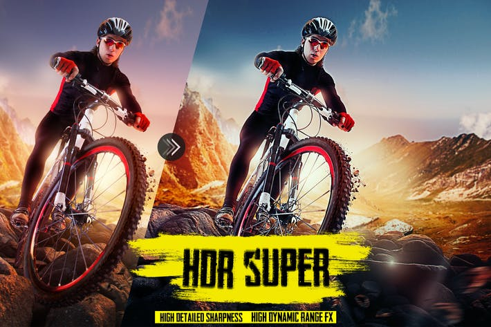 HDR Супер детализированное изображение - высокий динамический диапазон