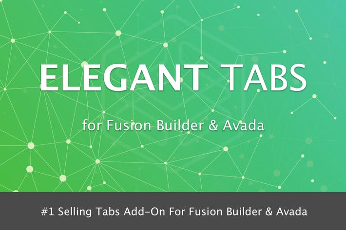 Thumbnail for Elegant Tabs for Fusion Builder