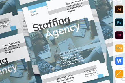 Staffing Agency Poster