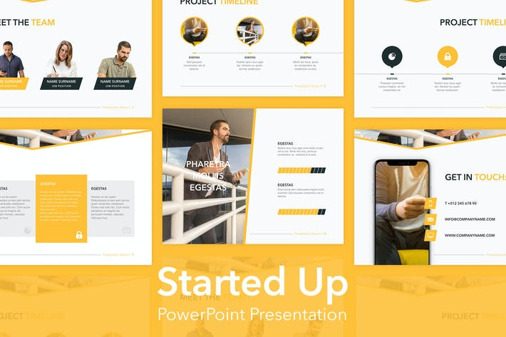 Started Up PowerPoint Template