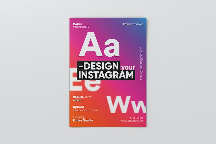 Thumbnail for Typography Poster Template
