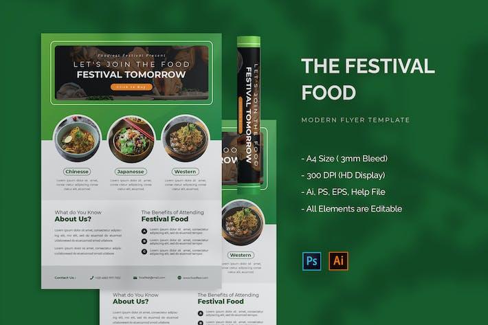 Food Festival - Flyer