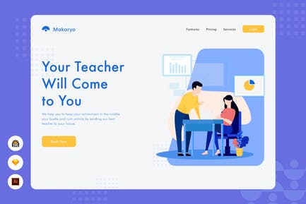 Your Teacher Will Come to You - Website