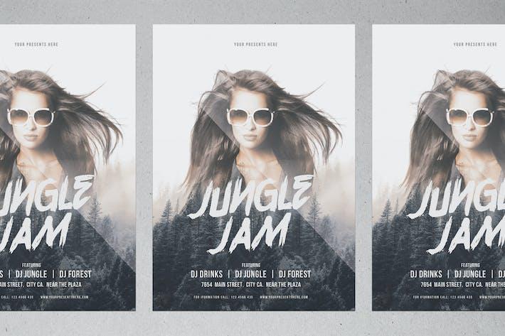 Thumbnail for Jungle Jam Flyer
