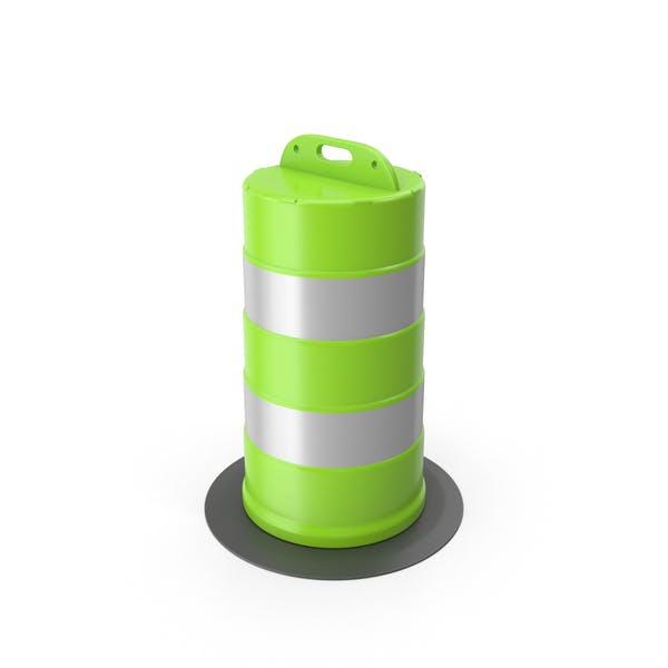 Traffic Drum Green