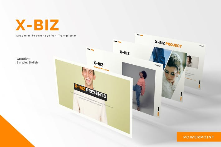 Thumbnail for Xbiz - Powerpoint Template