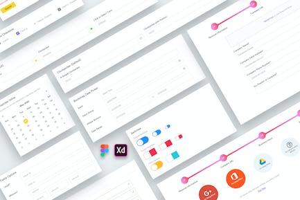 Web Dashboard Forms UI Kit